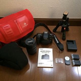 Canon EOS 8000D 一眼レフ