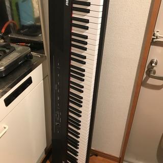 Alesis 88鍵盤 初心者向け電子ピアノ