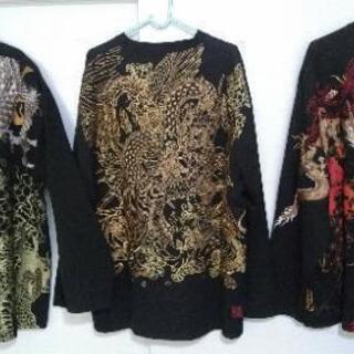絡繰魂(3点セット)黒3L Tシャツ