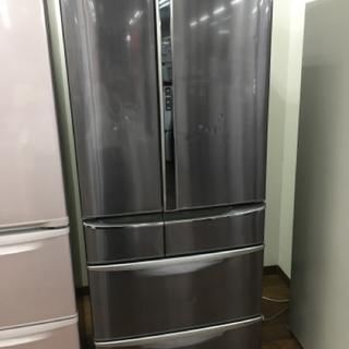 パナソニック 6ドア冷蔵庫 2010年製 603L NR-F60...
