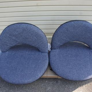 座椅子(ニトリ)新品同様2個¥500でお譲ります!