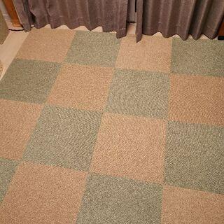 タイルカーペット グリーン 14枚