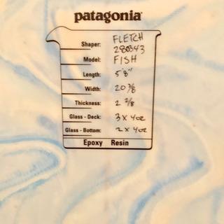 パタゴニアのサーフボード