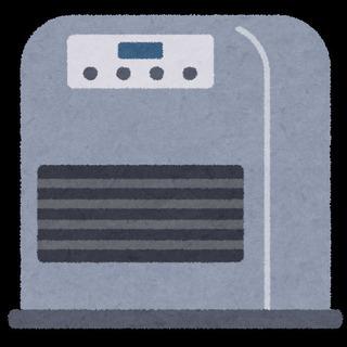 レンタルファンヒーター 石油ストーブ 業務用 1日1000円~の画像