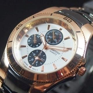 VITAROSOメンズ腕時計 メタルウォッチ 日本製 《新…