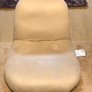 ☆座面高さ12㎝☆超美品もちもち包まれる座椅子リクライニング14段階!