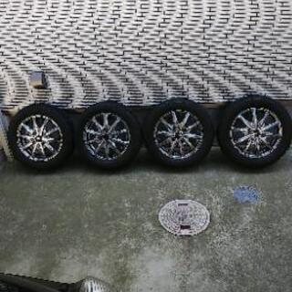 155/65 13インチ ホイール付きスタッドレスタイヤ 4本セット
