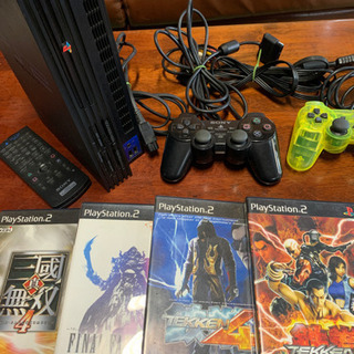 PS2本体 ソフト4枚