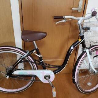 ★自転車★22インチ★オートライト★子供用