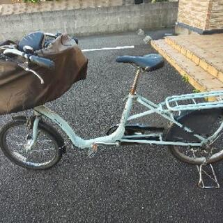 ふらっかーずシュシュ 子供乗せ自転車