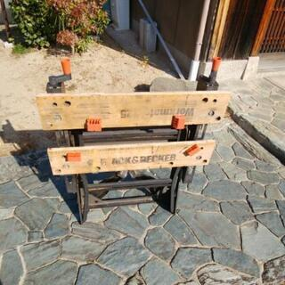DIY 作業台 black&DECKER Workmate225