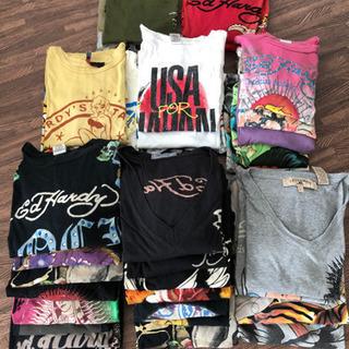 まとめてドン‼️ エドハーディー(Ed Hardy)Tシャツ達!