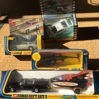 コーギーのミニカー  007、バットマン