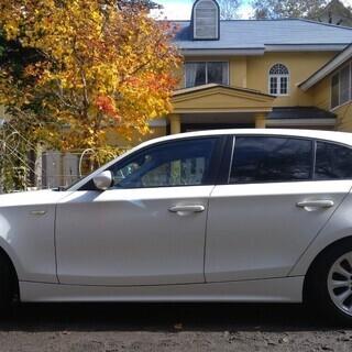 【値下げ&条件改訂!】BMW116i車検2年付 ブリザック4本+ホイール付 - 吾妻郡