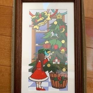 クリスマスの切り絵