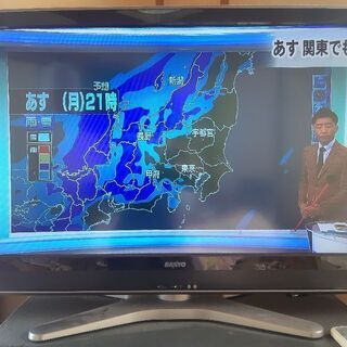 SANYO デジタルハイビジョン液晶テレビ 37型 ジャン…