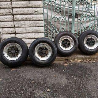 部品取り用 ローバーミニ1000のタイヤ