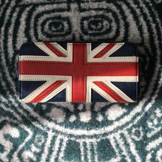 イギリスの旗模様の長財布