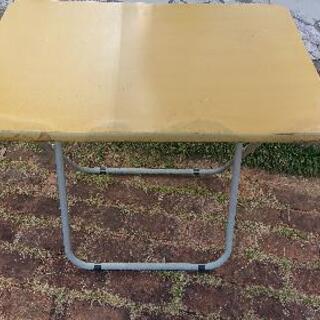 折り畳みテーブル (難あり)