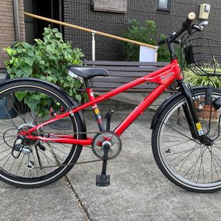 交渉中 子ども用 24インチ自転車