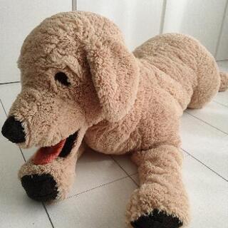 IKEA 犬のぬいぐるみ ビッグサイズ【取引中】