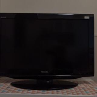 テレビ  32型 TOSHIBA REGZA