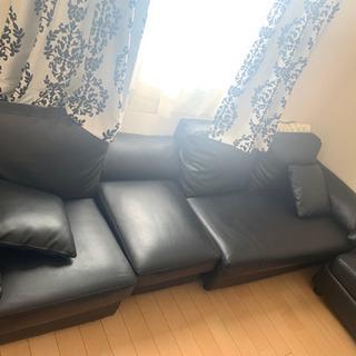 クロのソファ