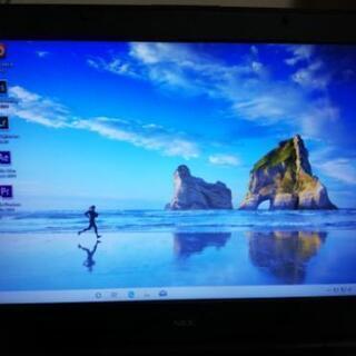 NECノートパソコン Windows10 HOME 64bit