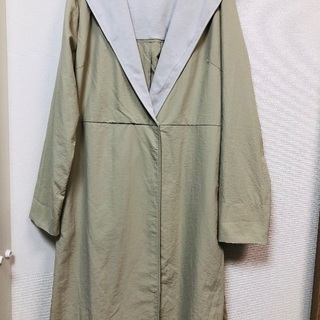 DIAPASONシンプルが可愛い薄手コート