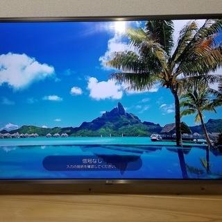 テレビ 55UJ6100 55インチ LG TV 4K 美品