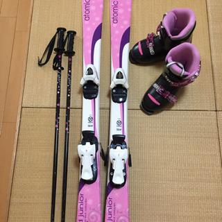 atomic ジュニア 子供 スキーセット 110センチ ブーツ...