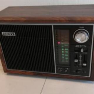 ソニー ラジオTFM - 9501 レトロラジオ