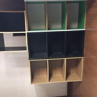 カラーボックス4個