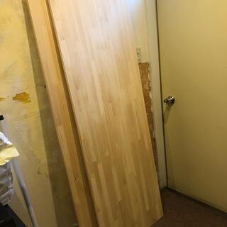 未使用 木材 パイン集成材 DIY用 2枚