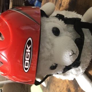 子供用 ヘルメット「レッド」