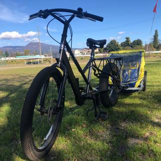 パパチャリ 88サイクル サイクルトレーラー