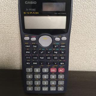カシオ 関数電卓 カバー付き