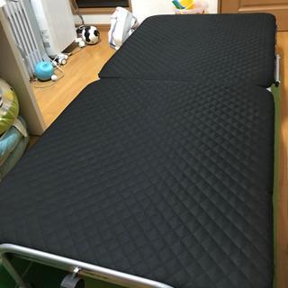折りたたみ式 簡易シングルベッド