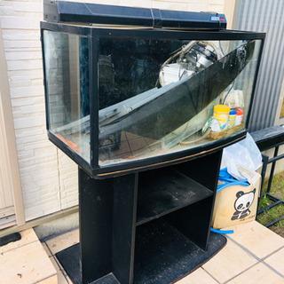 値下げ可【レア品】ドーム型コトブキ90cm水槽セット!