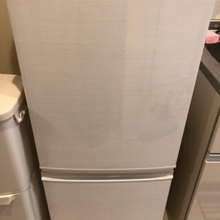 【冷蔵庫】【売ります】2017年製/137L/シャープ