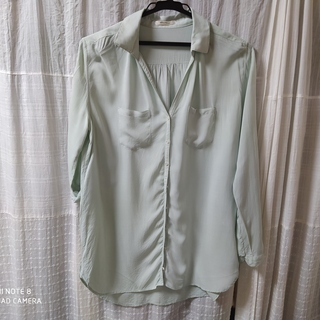 【Simplicite シンプリシテェ】ロングシャツ【レディース】
