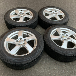 【値下げ】スタッドレスタイヤとアルミ 4本セット