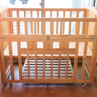 (取引成立!)木製ベビーベッド