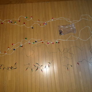 クリスマスツリー用電飾 ジャンク品 無料