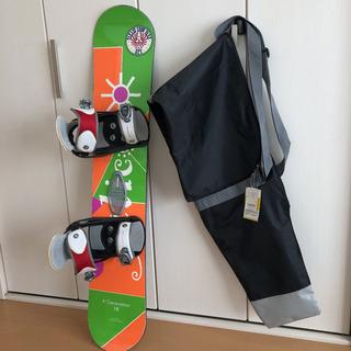 スノーボード板118㎝ ケース付き