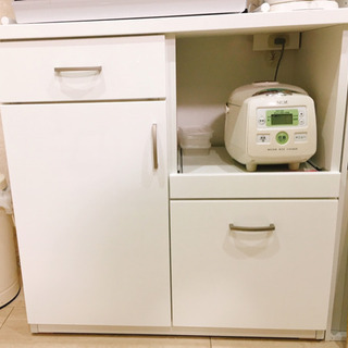 【受け渡し決定】キッチンカウンター 使用1年半 美品