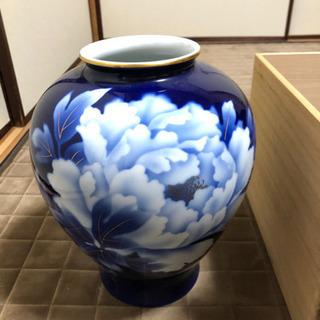 新品 九谷焼 花瓶 骨董 壺
