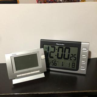 デジタル時計★2台セット