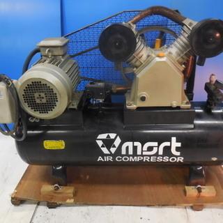 mart製 大型エアーコンプレッサー 3相 200V 4KW ベ...