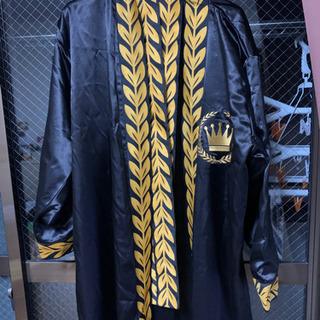 また値下げしました!Bruno Mars ブルーノマーズ ツアーグッズ 限定 来日記念 ボクサーガウン 羽織 ローブ ポリエステル100% S 黒の画像